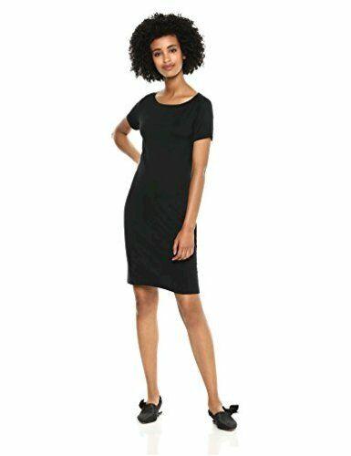 Black Size X-Large Brand Daily Ritual Women/'s Jersey Short-Sleeve
