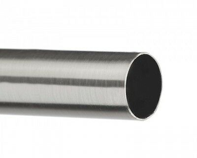 19mm diameter Metal Curtain Pole lengths – Trade packed metal pole only Satin...