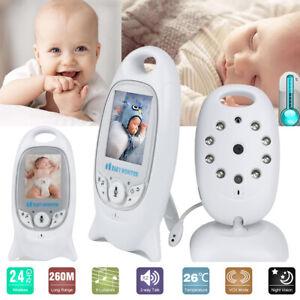 Digital-Wireless-Babyphone-mit-Kamera-Farbe-Video-Monitor-Nachtsicht-Babypflege
