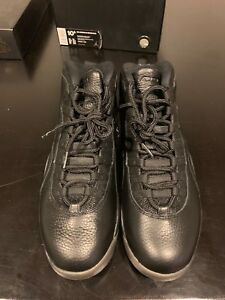 e6cd3bf624de02 Nike Air Jordan Retro 10 OVO Black Metallic Gold Drake 819955-030 ...