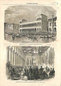 Le-Fondaco-dei-Turchi-Museo-Correr-Venice-Venezia-Italia-Italy-Italie-PRINT-1869