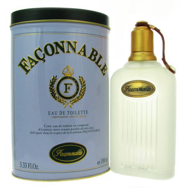 Faconnable 3.4oz Men's Eau de Toilette Cologne. New In Box. HARD TO FIND