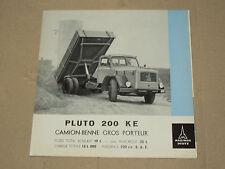Prospectus Camion MAGIRUS DEUTZ 200 KE catalogue prospekt brochure truck LKW