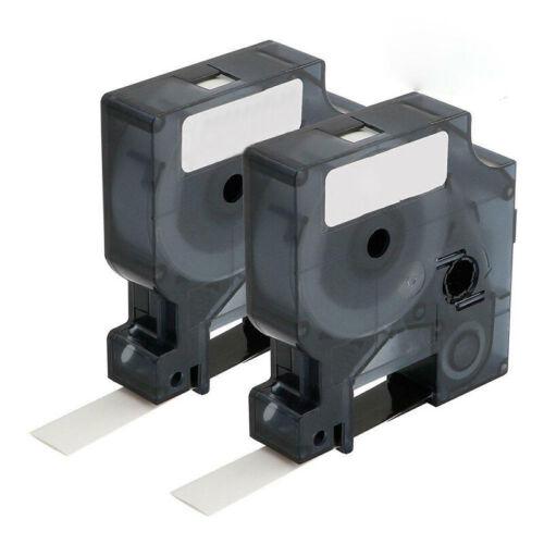 Hitze Schrumpf Schlauch Label Band 18055 für Dymo Rhino 4200 5000 12mm