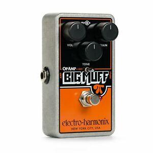 ehx op amp big muff pi billy corgan fuzz electric guitar effects pedal ebay. Black Bedroom Furniture Sets. Home Design Ideas