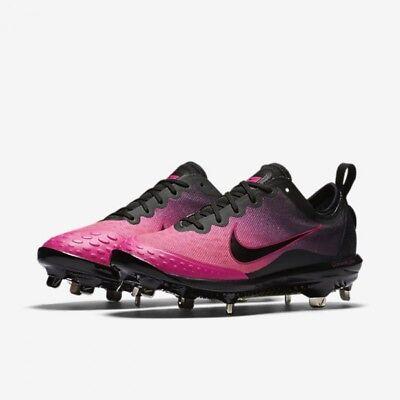 Softball Cleats Pink Black 856433 060
