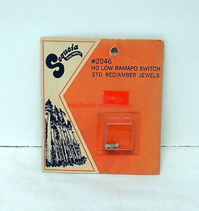 Details about Sequoia Scale Models~HO~2046~Low Ramapo Switch Standard  Kit~OOP~NOS~White Metal