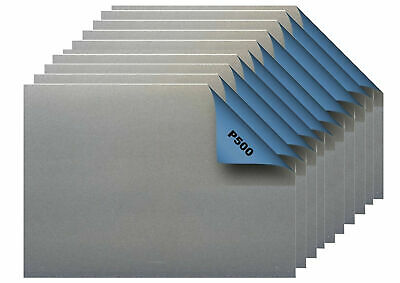Top Qualität 0,92Euro//Stk 10er Pack Wasser-Schleifpapier 230 x 280 mm Korn 500