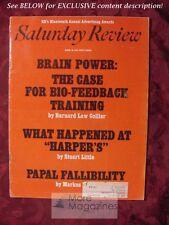 Saturday Review April 10 1971 BIO FEEDBACK STUART LITTLE HALLOWELL BOWSER