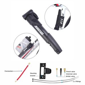 tragbar hochintensive Umw/älzpumpe Milter Mini-Fahrradpumpe aus Kunststoff f/ür Mountainbike Rennrad