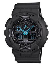 Casio G-Shock *GA100C-8A Anadigi XL Matte Grey w/ Neon Blue Gshock COD PayPal