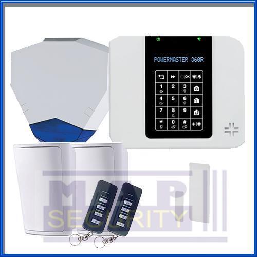 VISONIC Powermaster - 360 PM360R Kit alarma inalámbrico control inteligente original de Reino Unido Stock