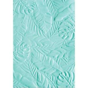 Sizzix 3D Textured Impressions Embossing Folder Tropical Leaves 662827