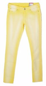 7981304e6ef PEPE JEANS JUNIOR jeans jaune used Junior Fille EMERY YELLOW 16 ANS ...