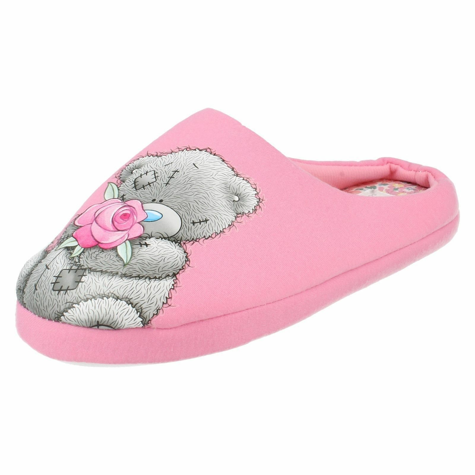Ladies Tatty Teddy Mule Slippers - Me To You