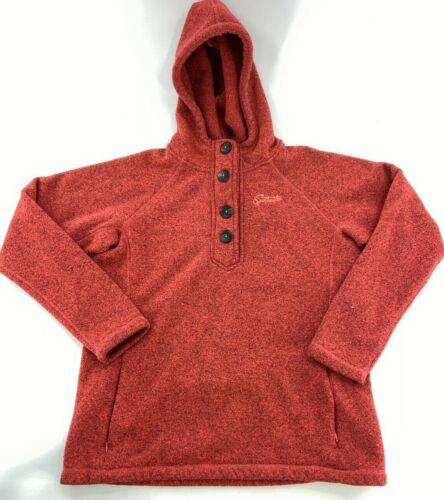Vintage Sportcaster Hoodie (L)  Hooded Sweatshirt