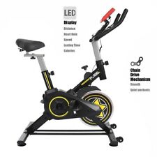 Exercise Bike Fitness Gym Indoor Cycling Stationary Bicycle Cardio Workout LCD