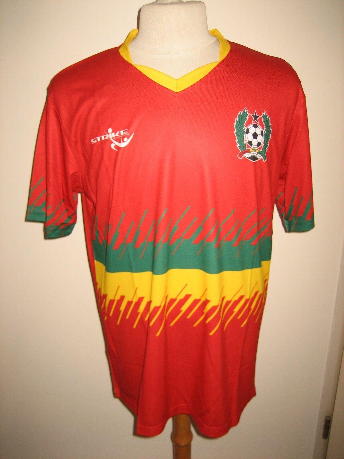 Guinea-Bissau Africa CAF football shirt soccer jersey maillot trikot Dimensione L