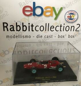 DIE-CAST-034-FERRARI-158-F1-1964-JOHN-SURTESS-BOX-1-034-1-43