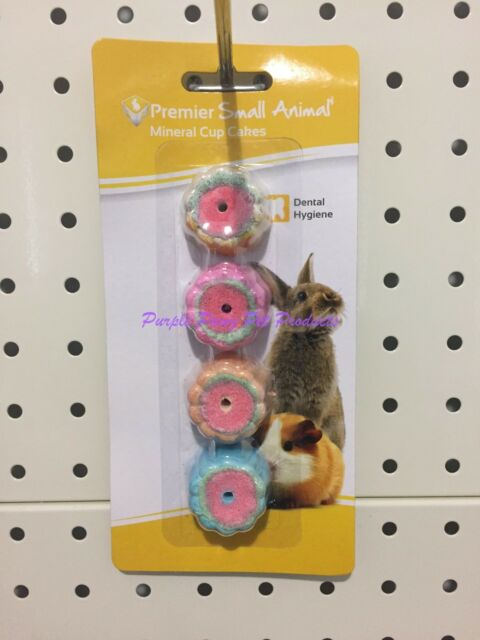 ~PREMIER PET / MINERAL CUP CAKES / FOR SML ANIMALS / RABBIT / GUINEA PIG~