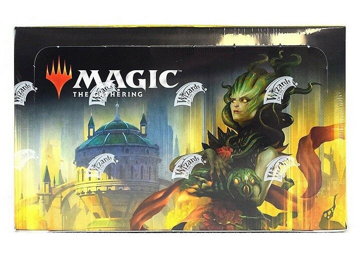 MAGIC MTG Guilds of Ravnica BOOSTER BOX Factory Sealed GATHERING 2018 + FOIL