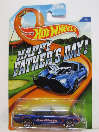 63 MUSTANG II CONCEPT HOT WHEELS 2015 HAPPY FATHERS DAY