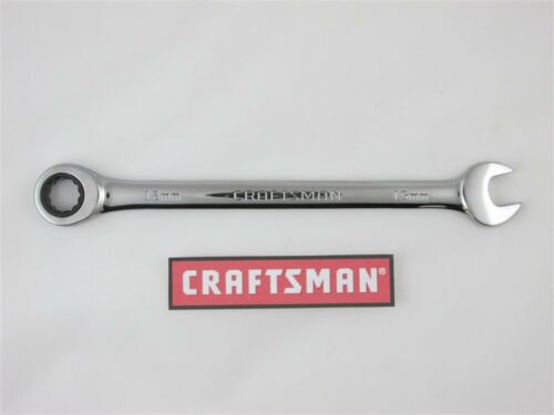 Craftsman Full Polish Ratcheting Combination Wrench SAE or MM Metric Choice Size