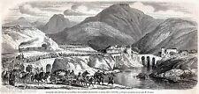 ISOLA DEL CANTONE NEL RISORGIMENTO. Alta Valle Scrivia.Genova.Stampa Antica.1859