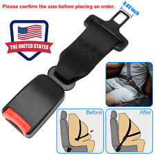 Universal Car Safety Seat Belt Extender Seatbelt Extension Strap Buckle 9 Inch Fits Toyota