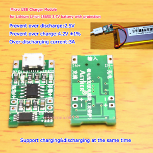 USB LiPo Battery Charger 3.7V Single