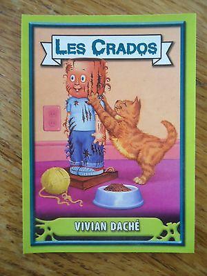Image 2004 album card Sticker FRANCE Garbage Pail Kid Les CRADOS 3 N°141