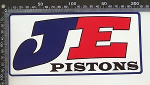 GENUINE-JE-PISTONS-RACING-SPONSOR-NASCAR-USA-CAR-BUMPER-PROMO-STICKER-DECAL