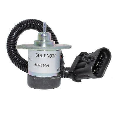 Bobcat Skid Steer Loader A300 S220 S250 S300 S330 Fuel Shutdown Solenoid Switch