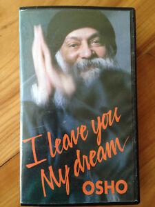 OSHO- I Leave You my Dream VHS Bhagwan Rajneesh - Hockenheim, Deutschland - OSHO- I Leave You my Dream VHS Bhagwan Rajneesh - Hockenheim, Deutschland