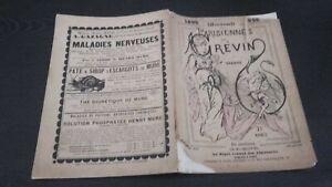 Almanach Delle Bottoni Per Grévin E Draner 1896 Plon-Feed Parigi Stampe