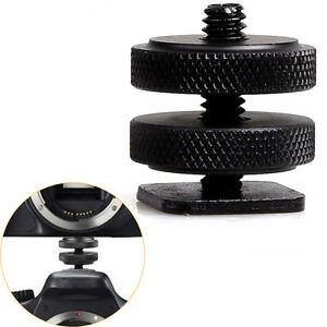 Adaptateur-sabot-d-039-appareil-photo-instantane-de-vis-trepied-jumeau1-4-034-en-metal