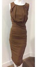 NICOLE MILLER COLLECTION Designer Dress Size 4 Small S Sundress Formal   2 6