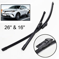 Wipers car wiper blade for Mitsubishi Delica Size 18 19 Soft Rubber WindShield Wiper Blade 2pcs//PAIR