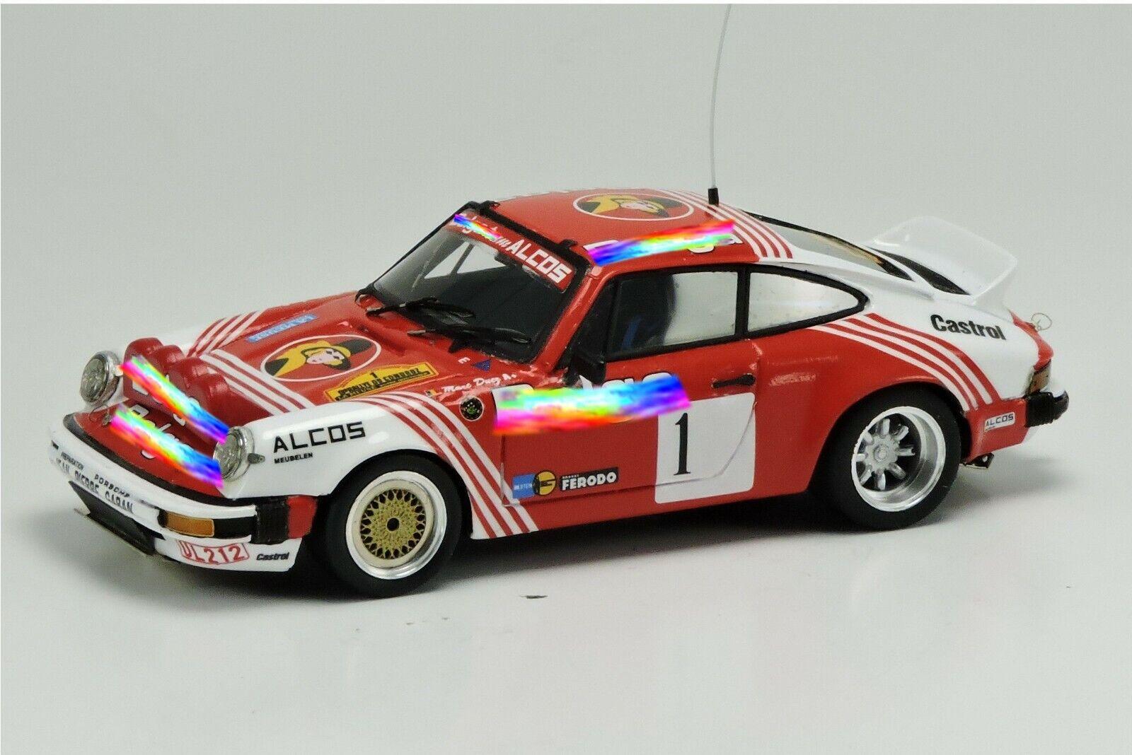 kit Porsche 911 SC GR.4  1 Duez-Lux Condroz 1982 - Arena Models kit 1 43
