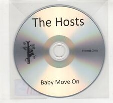 (HD644) The Hosts, Baby Move On - DJ CD