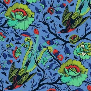 Free-Spirit-Tula-Pink-All-Stars-Lupine-Tail-Feathers-PWTP116-Cotton-Fabric-BTY