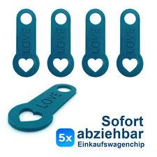 TROIKA I LOVE SHOPPING Herz Schlüsselhalter Schlüsselanhänger Keyring Chip