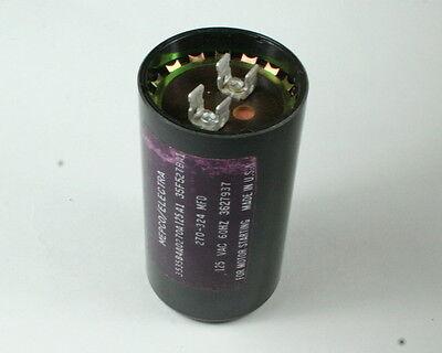 1x 270uF 324uF 165VAC Motor Start Capacitor 270-324uF 165V AC 270-324mfd