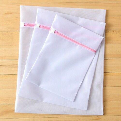 Vêtements Sac Fin Filet Maille Zippé Blanchisserie Sacs Lavage Pochette sous