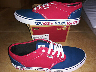 NEW Mens Vans Atwood Sidewall Logo Shoes, size 12 | eBay