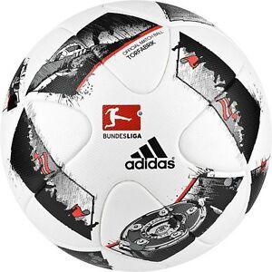 ADIDAS TORFABRIK BUNDESLIGA DFL 2018 FUSSBALL GLIDER BALL WEISS GR.4 Fußball GR.5