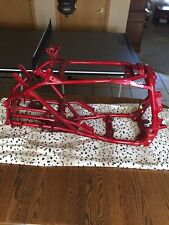 2004-2013 Yamaha YFZ450 subframe RED clean straight yfz 450 04 05 06 07 08 09