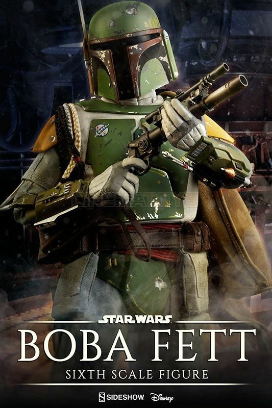 Boba Fett Sixth Scale Action Figure 30cm Sideshow Collectibles Star Wars EP. V