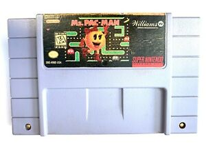 Ms-Pac-Man-SNES-Super-Nintendo-Game-Tested-Working-Authentic