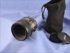 Nikon Micro Nikkor AF 60mm f2.8D 1:1 Scale Macro Lens - Excellent